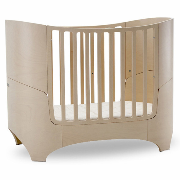 Tulip Leander Crib and Conversion Kit in White Wash