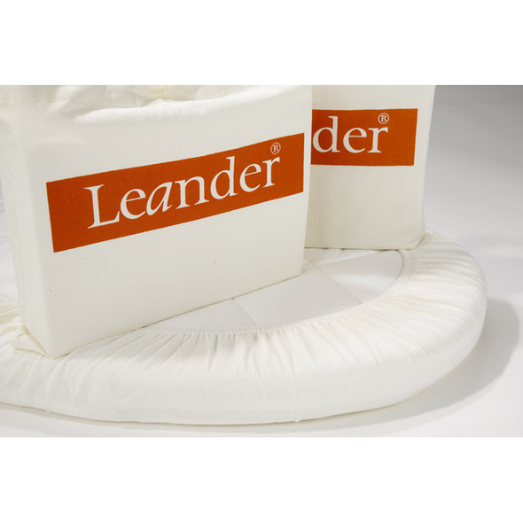 Tulip Leander 2 Extra Sheets for Junior Bed in Off White