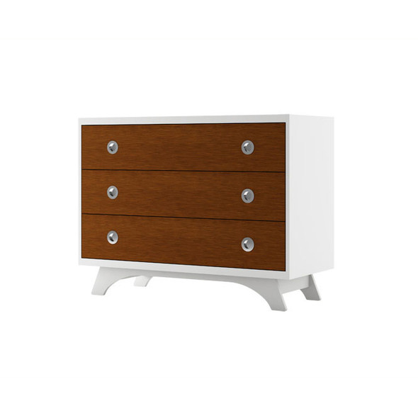 Dutailier Melon Dresser - White and Harvest