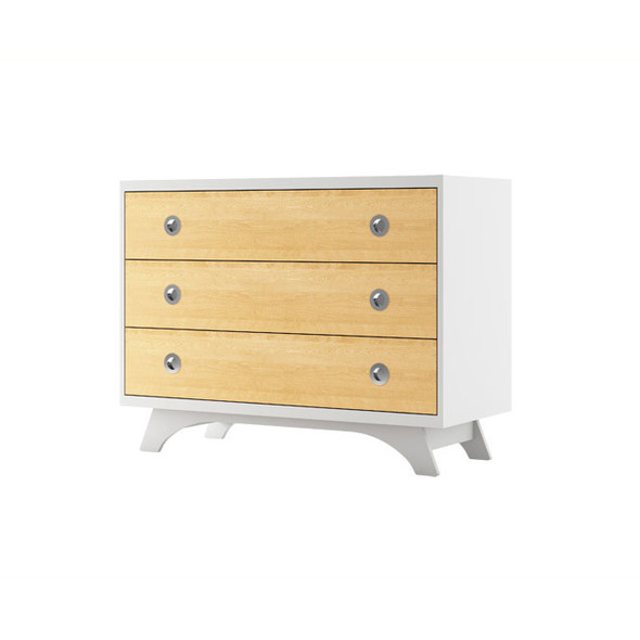 Dutailier Melon Dresser - White and Natural