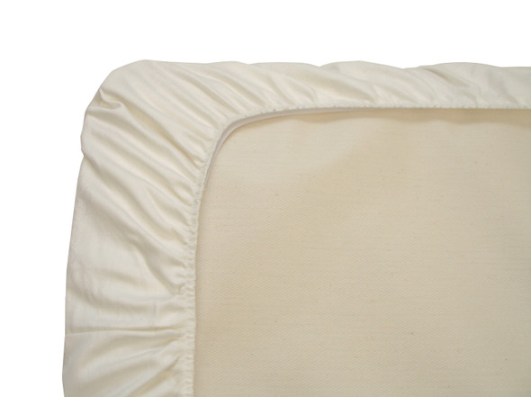Naturepedic Crib Sheet - White Sateen 3 pack