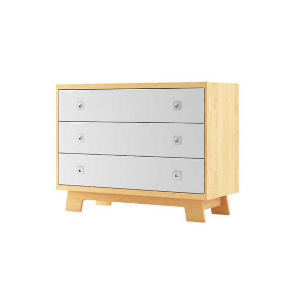 Dutailier Pomelo Dresser - White and Natural