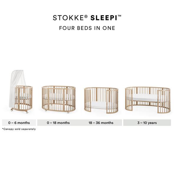 Stokke Sleepi Crib/Bed in Natural