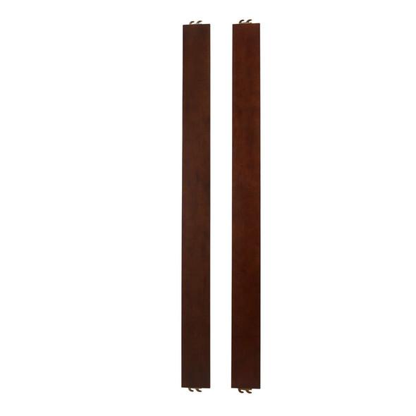 Dolce Babi Universal Bed Rails in Dark Walnut by Bivona & Company