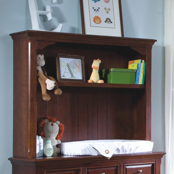 Westwood Donnington Collection Bookcase/Hutch in Virginia Cherry