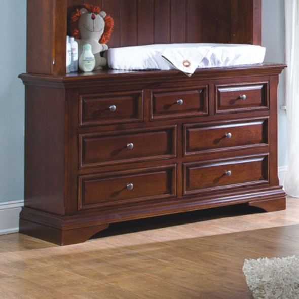 Westwood Donnington Collection Double Dresser Chest in Virginia Cherry