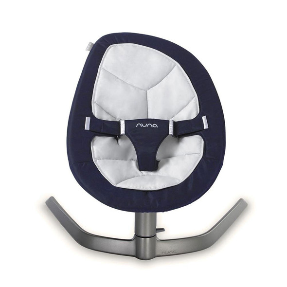 Nuna Leaf Bouncer in Navy with mesh