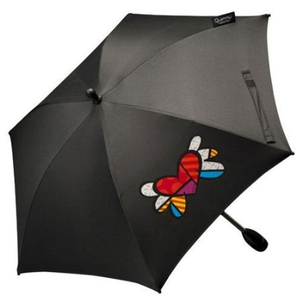 Quinny Britto Parasol in Heart print