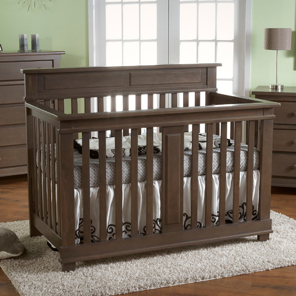 Pali Torino Collection Forever Crib in Slate