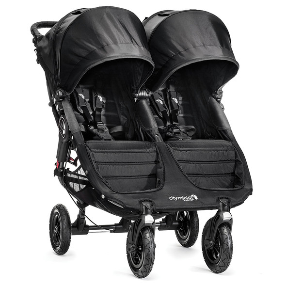 Baby Jogger City Mini GT Double Stroller in Black/Black