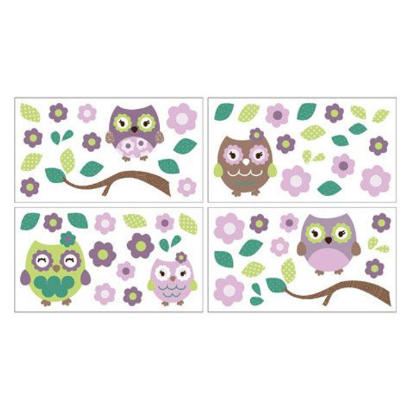 CoCo and Company Owl Wonderland Wall Decals