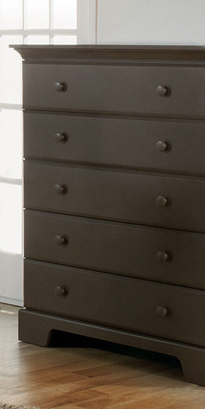Pali Volterra Collection 5 Drawer Dresser in Slate