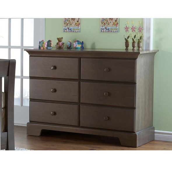 Pali Volterra Collection Double Dresser in Slate
