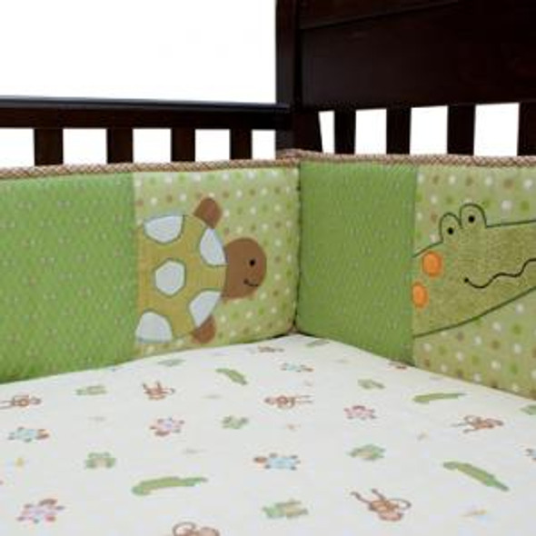 Lambs & Ivy Papagayo Collection Crib Bumper