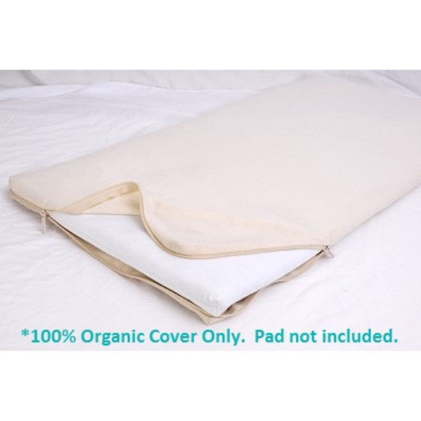 Moonlight Slumber All-in-One Organic Cotton Changing Table Pad Coverlet