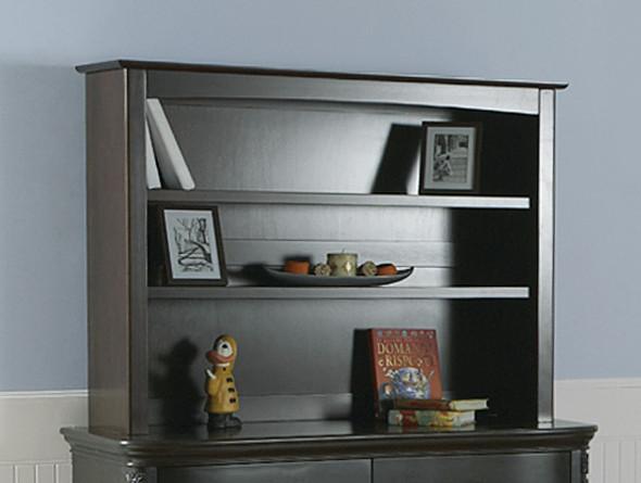 Pali Universal Bookcase/Hutch in Onyx