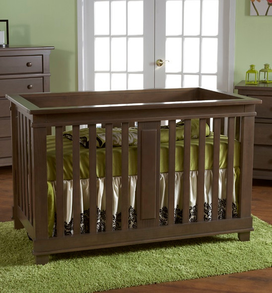 Pali Lucca Collection Forever Crib in Slate