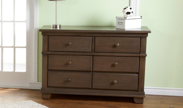 Pali Lucca Collection Double Dresser in Slate