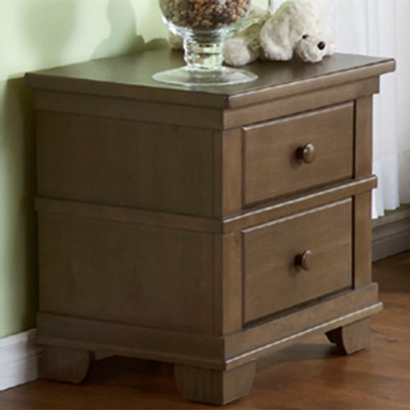 Pali Lucca Collection Nightstand in Slate