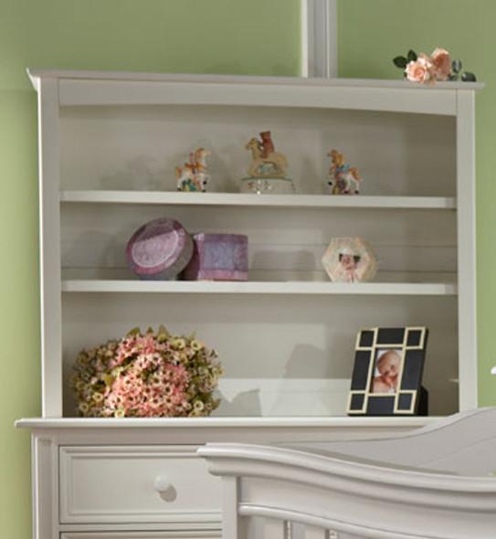 Pali Marina Collection Bookcase Hutch in White