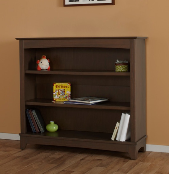 Pali Gardena Collection Bookcase Hutch in Slate