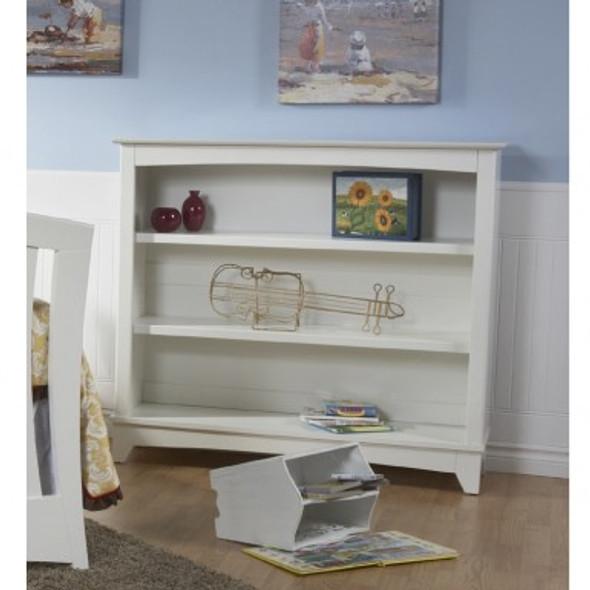 Pali Gardena Collection Bookcase Hutch in White