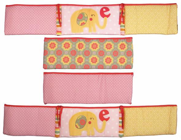 CoCo and Company Alphabet Sweeties Crib Bumper