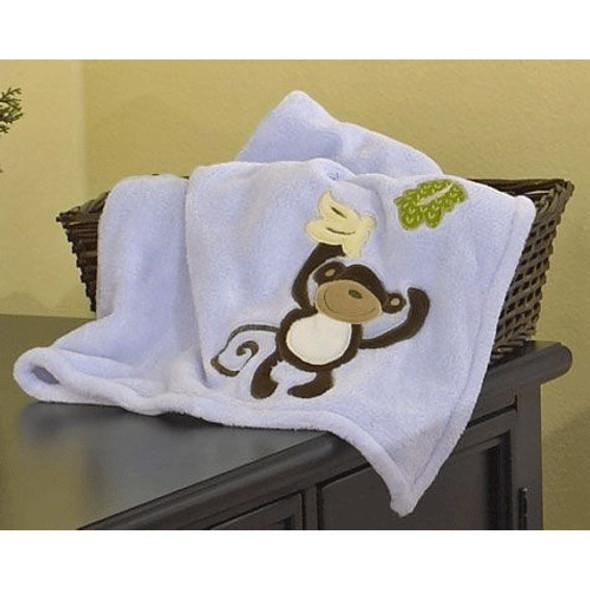 CoCo and Company Monkey Time BOA Blanket