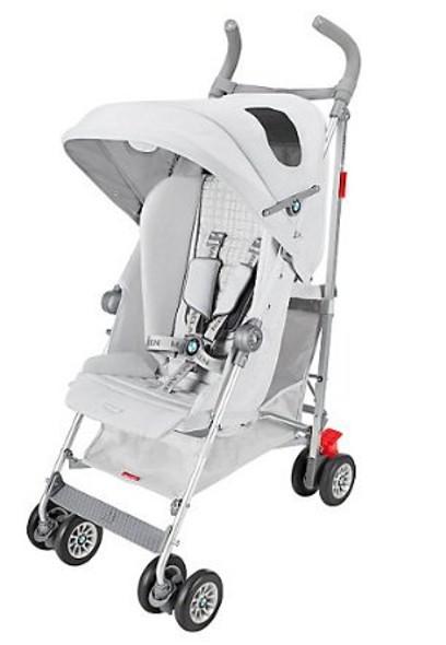 Maclaren BMW Stroller in Silver