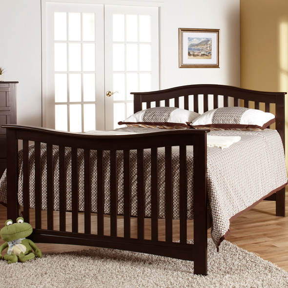 Pali Bolzano Collection Forever Crib in Mocacchino
