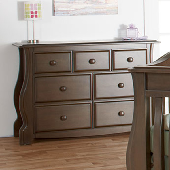 Pali Bergamo Collection Double Dresser in Earth