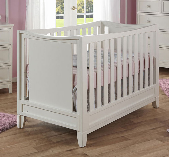 Pali Treviso Collection Forever Crib in White