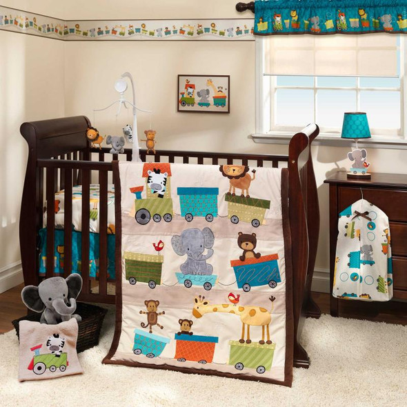 Bedtime Originals Choo Choo Collection 3-Piece Bedding Set