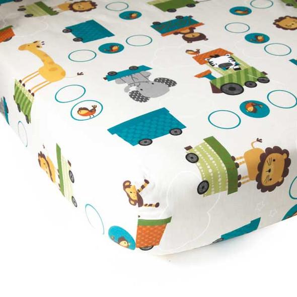 Bedtime Originals Choo Choo Collection Crib Sheet