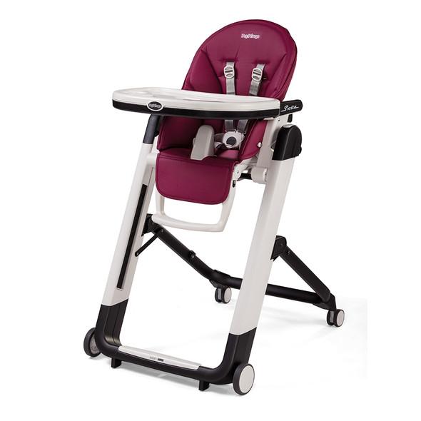 Peg Perego Siesta Highchair in Berry-Raspberry Pink