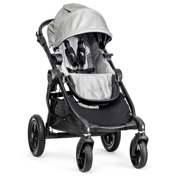 Baby Jogger City Select Single-Black Frame-Silver
