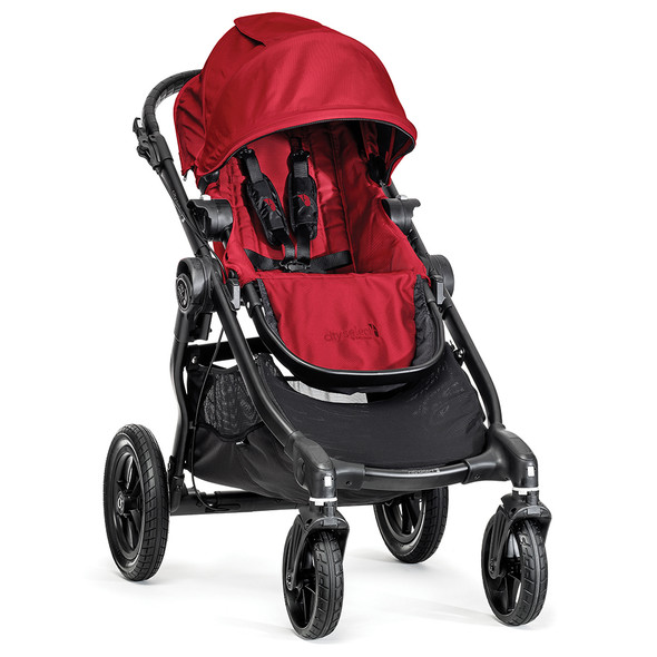 Baby Jogger City Select Single-Black Frame-Red