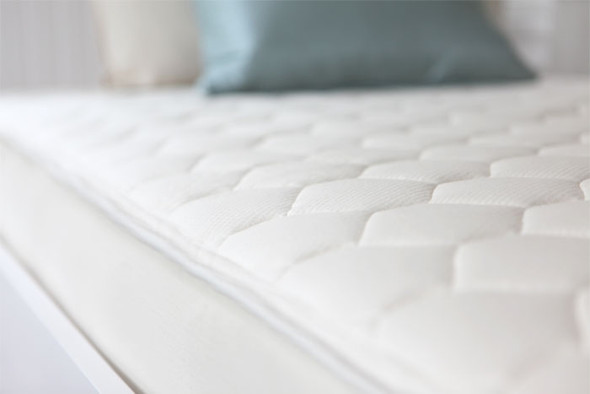 Naturepedic Full Organic Cotton Quilted Deluxe - 2 Sided