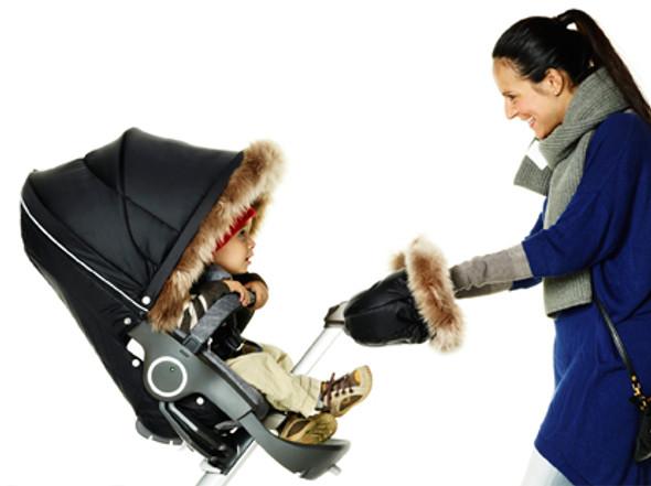 Stokke Stroller Winter Kit in Nougat Melange