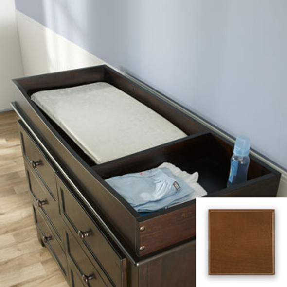 Pali Changing Tray with Bottom & Divider in Earth