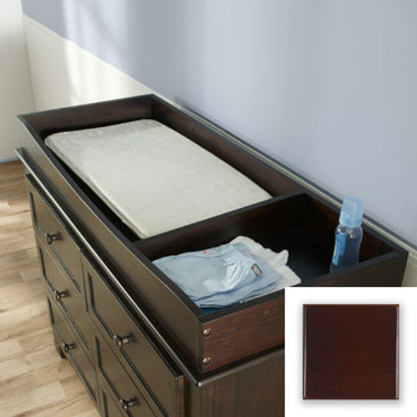 Pali Changing Tray with Bottom & Divider in Cherry