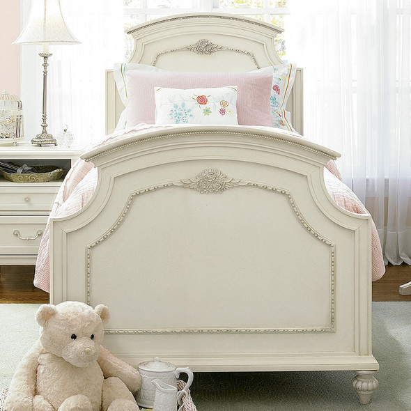 Smart Stuff Gabriella Twin Panel Bed in Lace