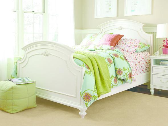 Smart Stuff Gabriella Full Panel Bed in Lace