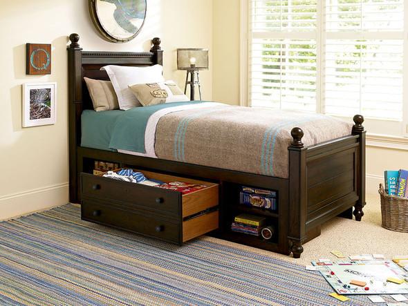 Smart Stuff Paula Deen Kids - Guys Twin Reading Bed in Molasses