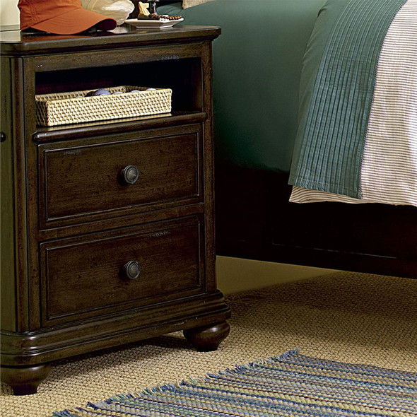 Smart Stuff Paula Deen Kids - Guys Nightstand in Molasses