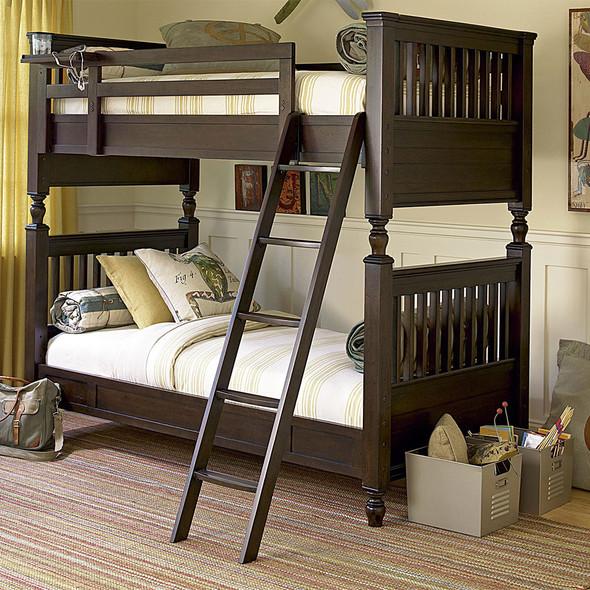 Smart Stuff Paula Deen Kids - Guys Full Bunk Bed in Molasses