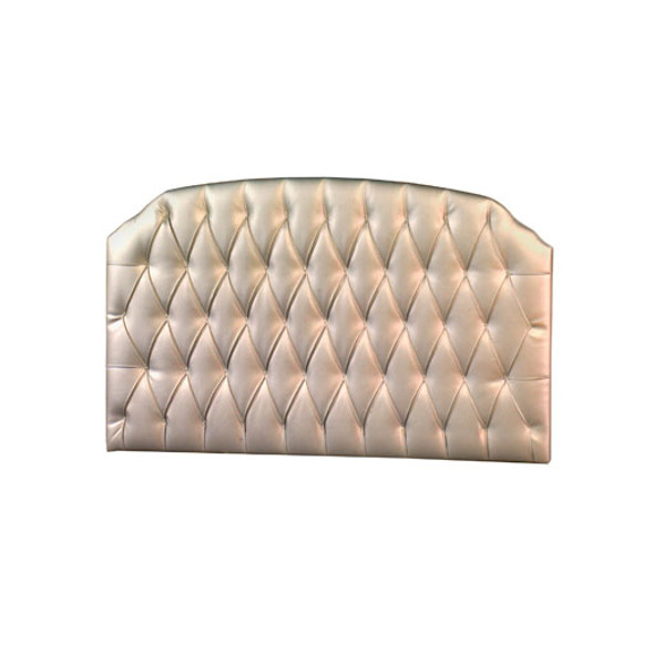 "Natart Allegra Tufted Headboard Panel for the Allegra ""4-in-1"" Convertible Crib in Platinum"