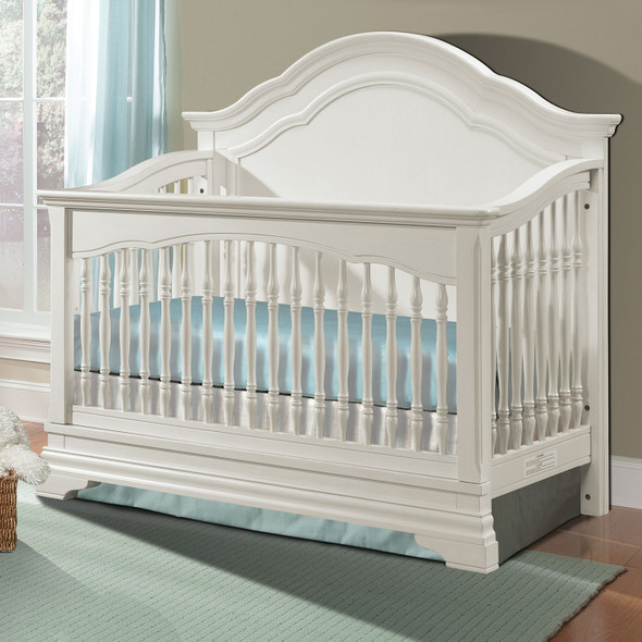 Stella Baby and Child Athena Collection Convertible Crib in Belgium Cream