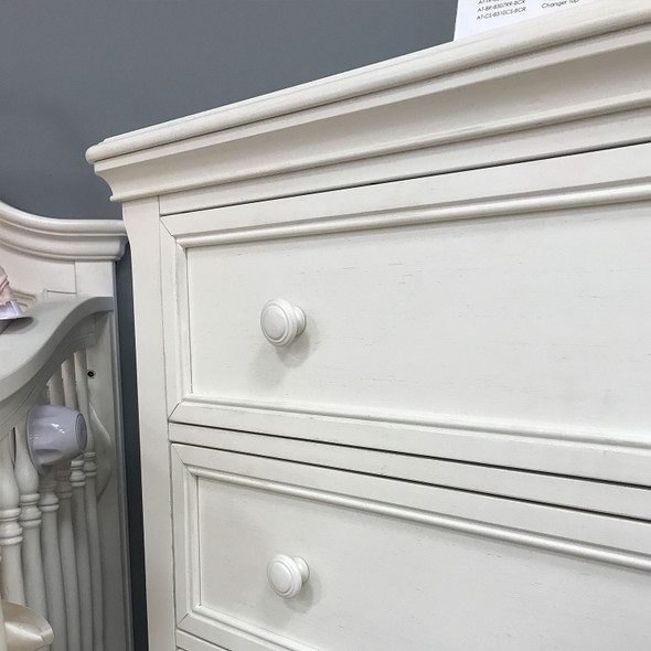 Stella Baby and Child Athena Collection Chest in Belgium Cream