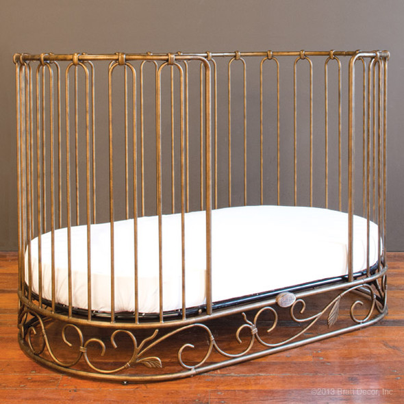 Bratt Decor J'adore Daybed Kit in Gold(Crib Sold Separately)